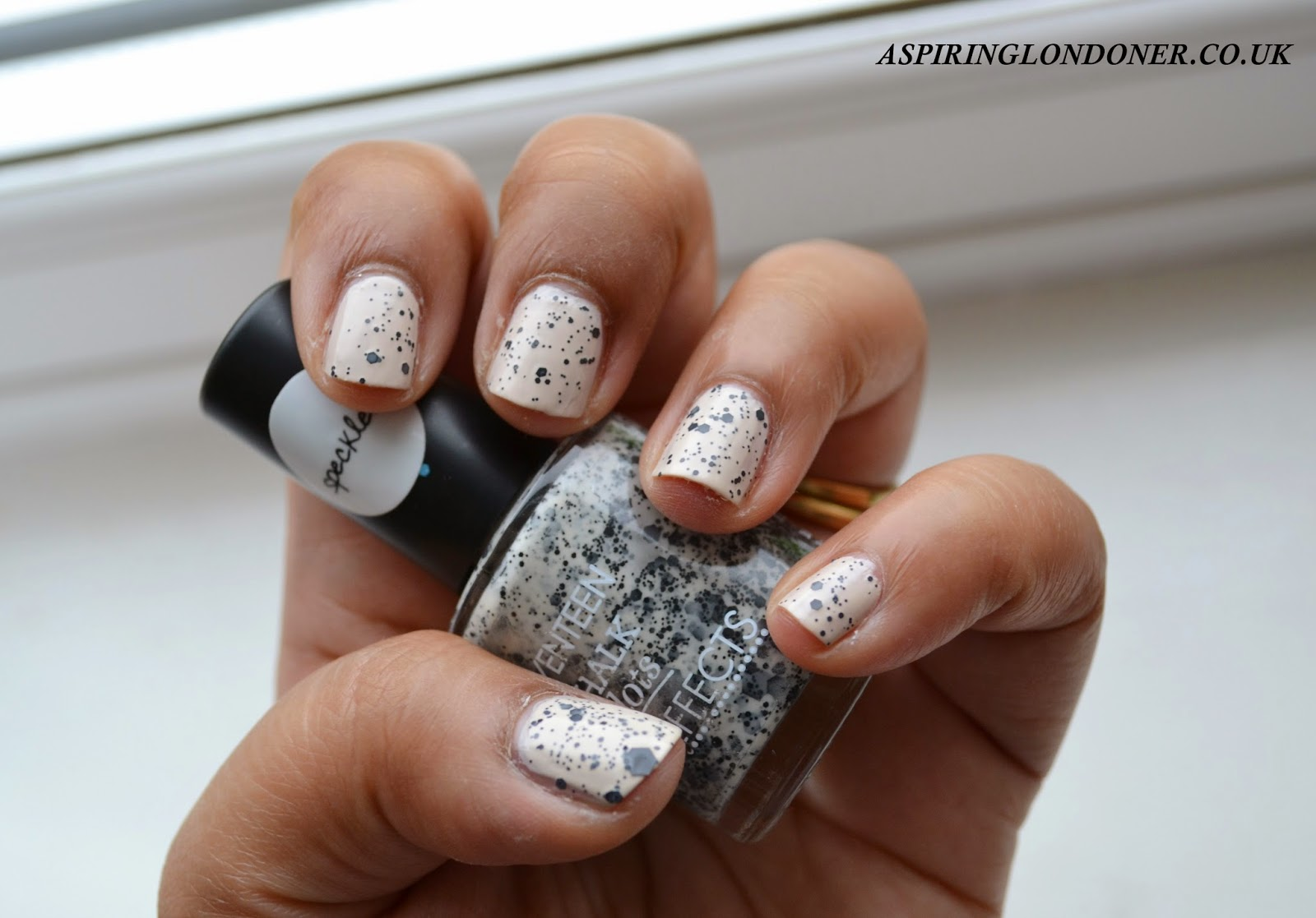 Seventeen Nail Effects Speckled Top Coat Limited Edition - Aspiring Londoner