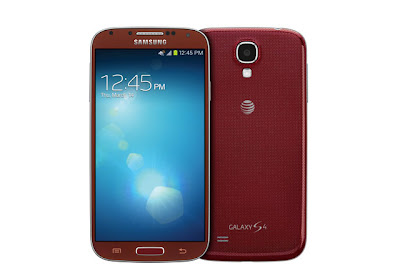 Galaxy S4 Aurora Red at AT&T