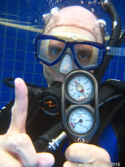 PADI IDC for February 2015 on Phuket is half way