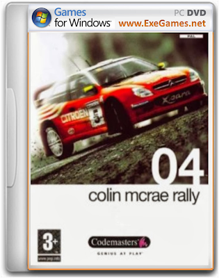 Colin Mcrae Rally 04 Free Download PC Game Full Version