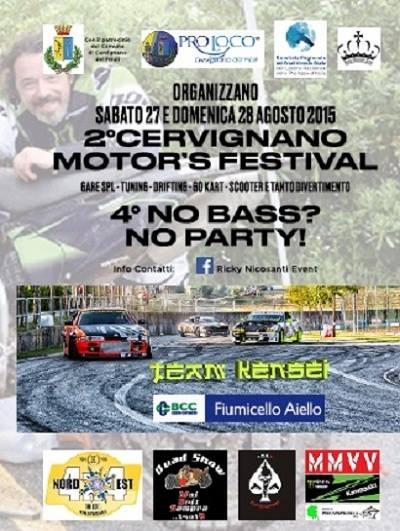 CERVIGNANO MOTOR'S FESTIVAL 2016