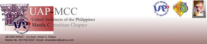 The Official Blogsite of UAP Manila Corinthian Chapter