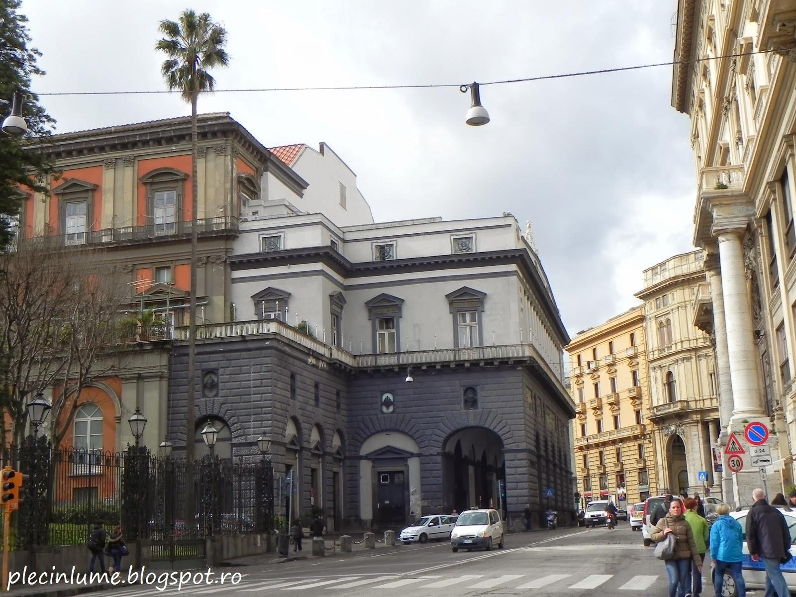 Intrare in Teatrul San Carlo
