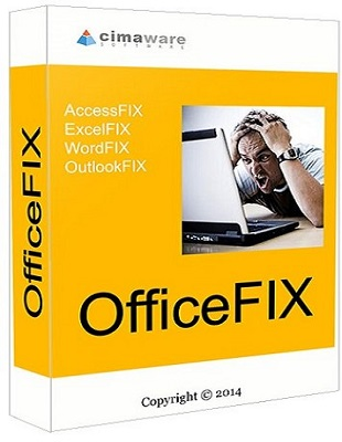 Cimaware OfficeFIX Professional 6.120 poster box cover