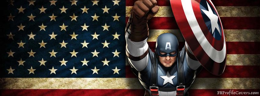 gambar kronologi facebook captain america