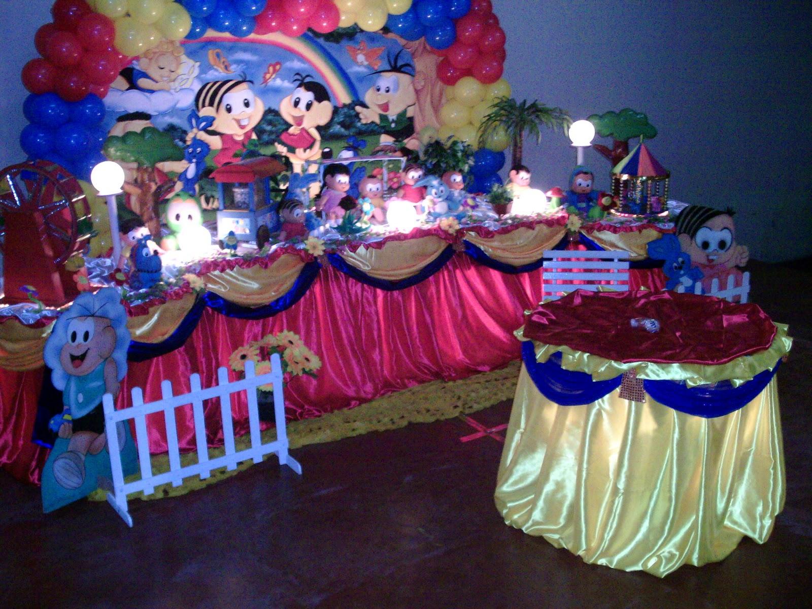 decoracao festa xuxinha:decoração de festa da Turma da Mônica