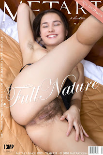Met-Art - Francine A - Full Nature - Hairy Armpits Asshole & Pussy - Cover