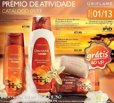 produto oriflame de oferta do catálogo nº 1 de 2013