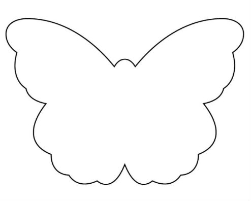 Vintage country style free mother 39 s day gift idea for Butterfly template free