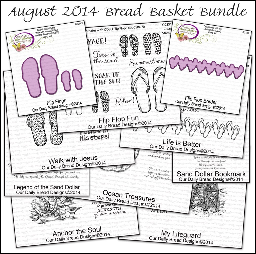Our Daily Bread Designs August 2014 Bread Basket Bundle