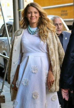 Blake Lively: It evokes the sex of her baby! 1