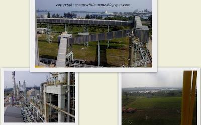 Lingkungan Pabrik PIM-2 dari Atas