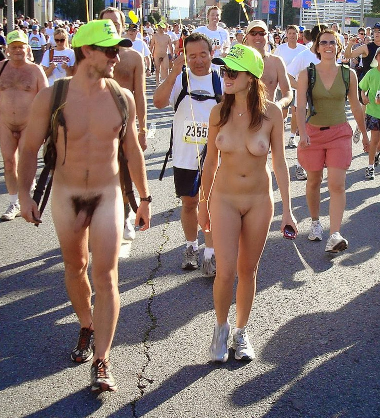 Nude runners bay to breakers