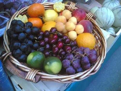 Tabla de índice glucémico - Frutas y derivados