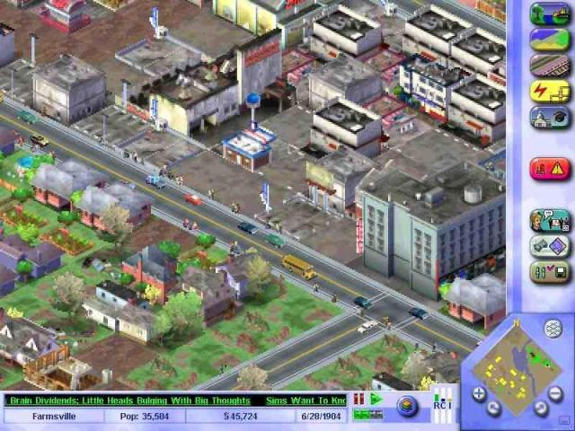 SimCity 3000 PC Games Screenshots
