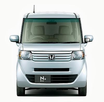 Honda N BOX + front