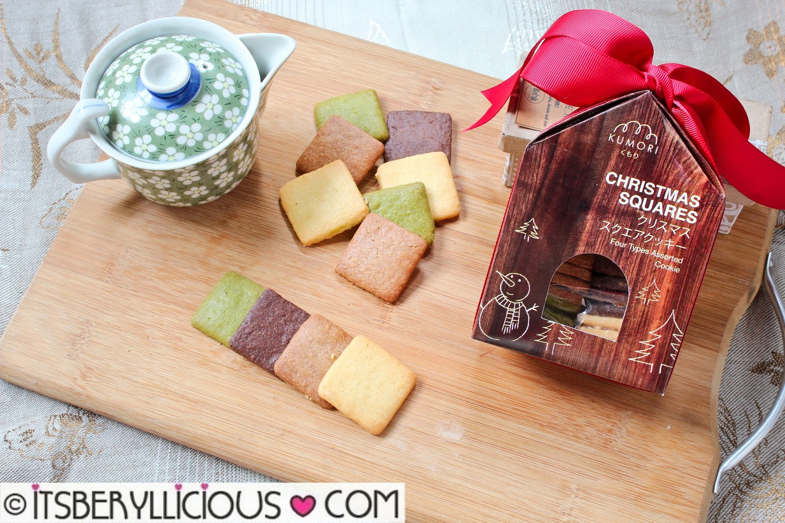 Kumori Japanese Bakery- Christmas Squares as Gifts for the Holiday ...