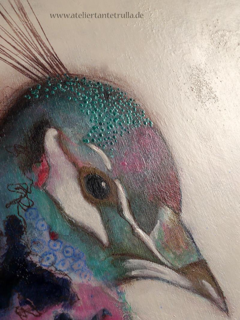 Malerei Metallicfarbe