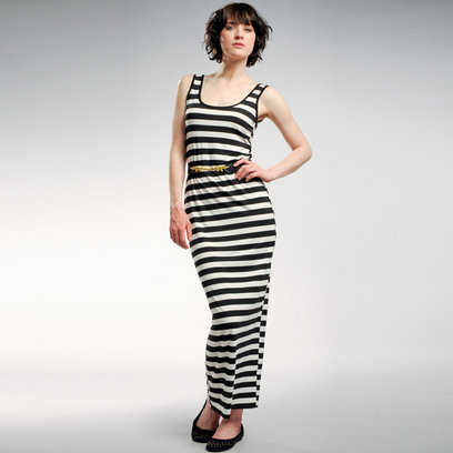 Black  White Striped Maxi Dress on Graffic Black And White Maxi Stripe Dress5 1 408 Jpg