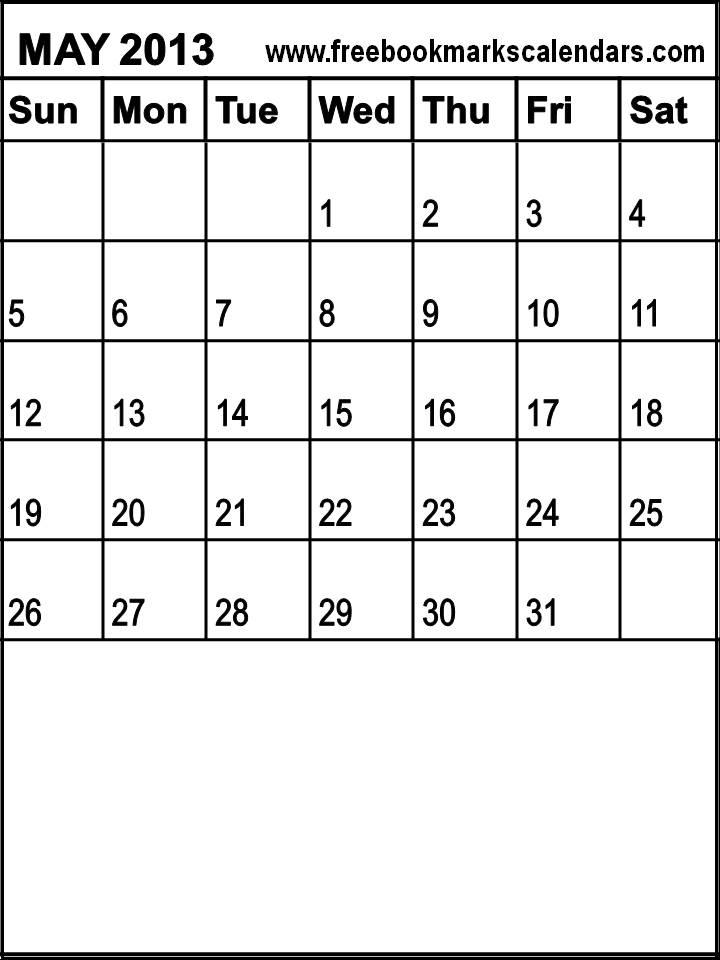 Calendar May 2013 : Free blank calendars search results calendar