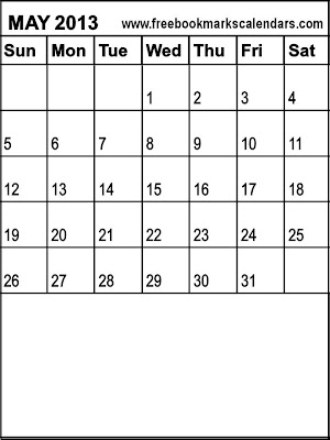 300 x 400 · 22 kB · jpeg, Free Printable Calendars 2013 / 2014: May