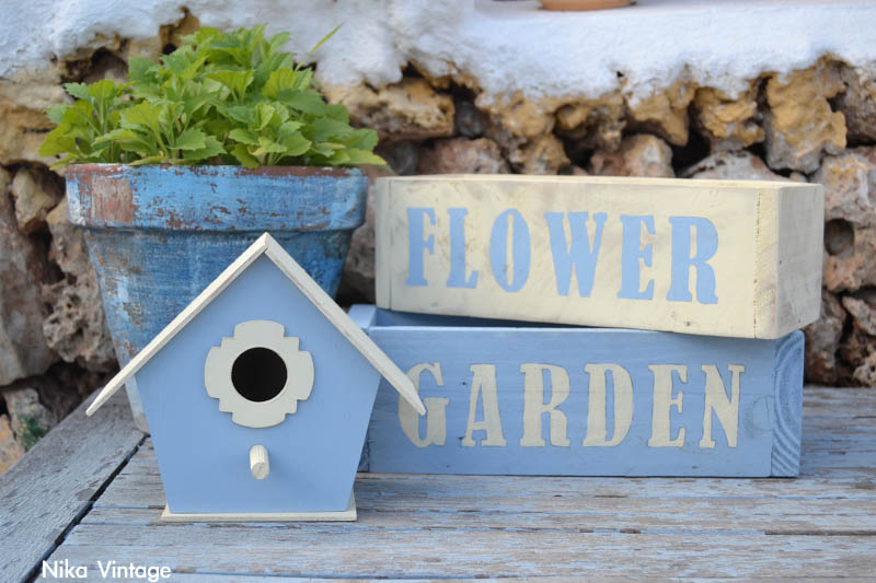 3 ideas para decorar tu jardin nika vintage for Casita jardin segunda mano