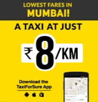 [Mumbai] Taxi for Sure - Book a Taxi for Rs. 5/km