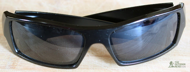 Walleva Replacement Lenses For Oakley GasCan Sunglasses - Black Lenses