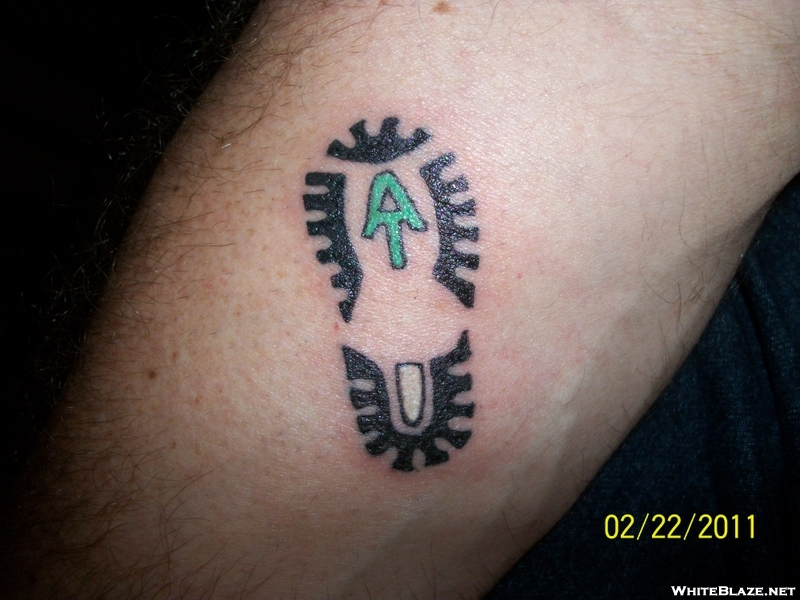 northbound an appalachian trail journey at tattoo design