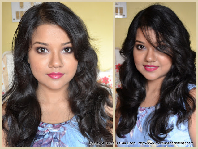 Irresistible me 8-in-1 Sapphire Hair Curling Kit before and after