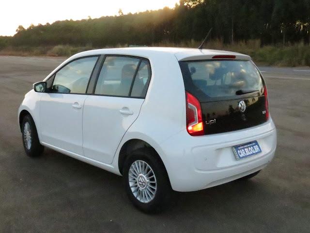 Volkswagen Up! 2016 - consumo - TSI