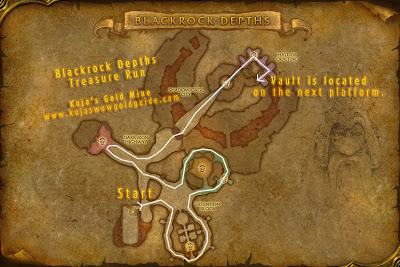 blackrock depths location map