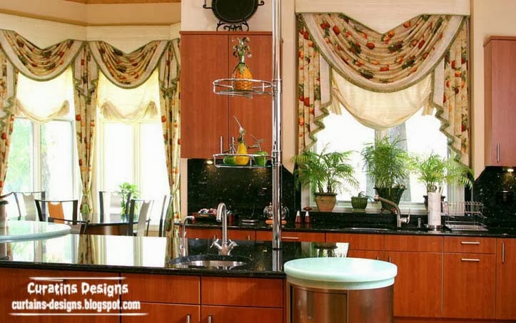 Luxury Kitchen Window Curtains