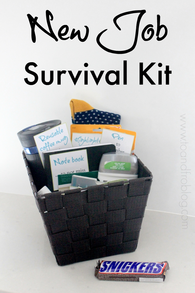 To & Fro: New Job Survival Kit DIY