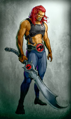 Lion-O with curved sword