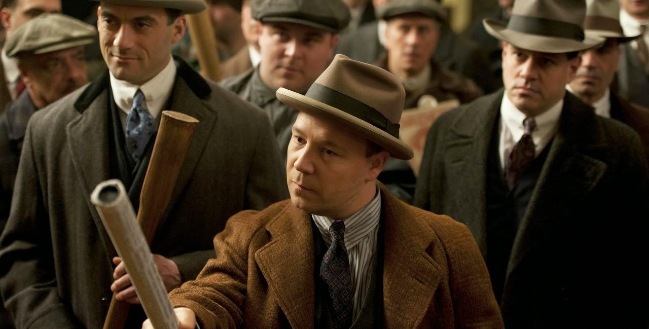 El actor inglés Stephen Graham interpretando a Al Capone