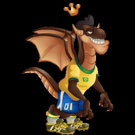 imagen del dragon o rei de dragon city