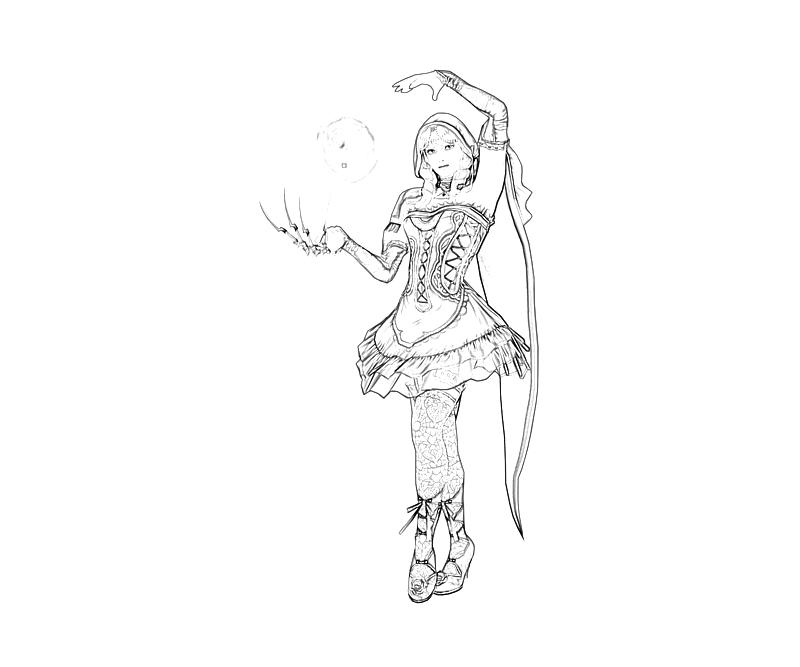 Soulcalibur v viola power tubing for Viola coloring page