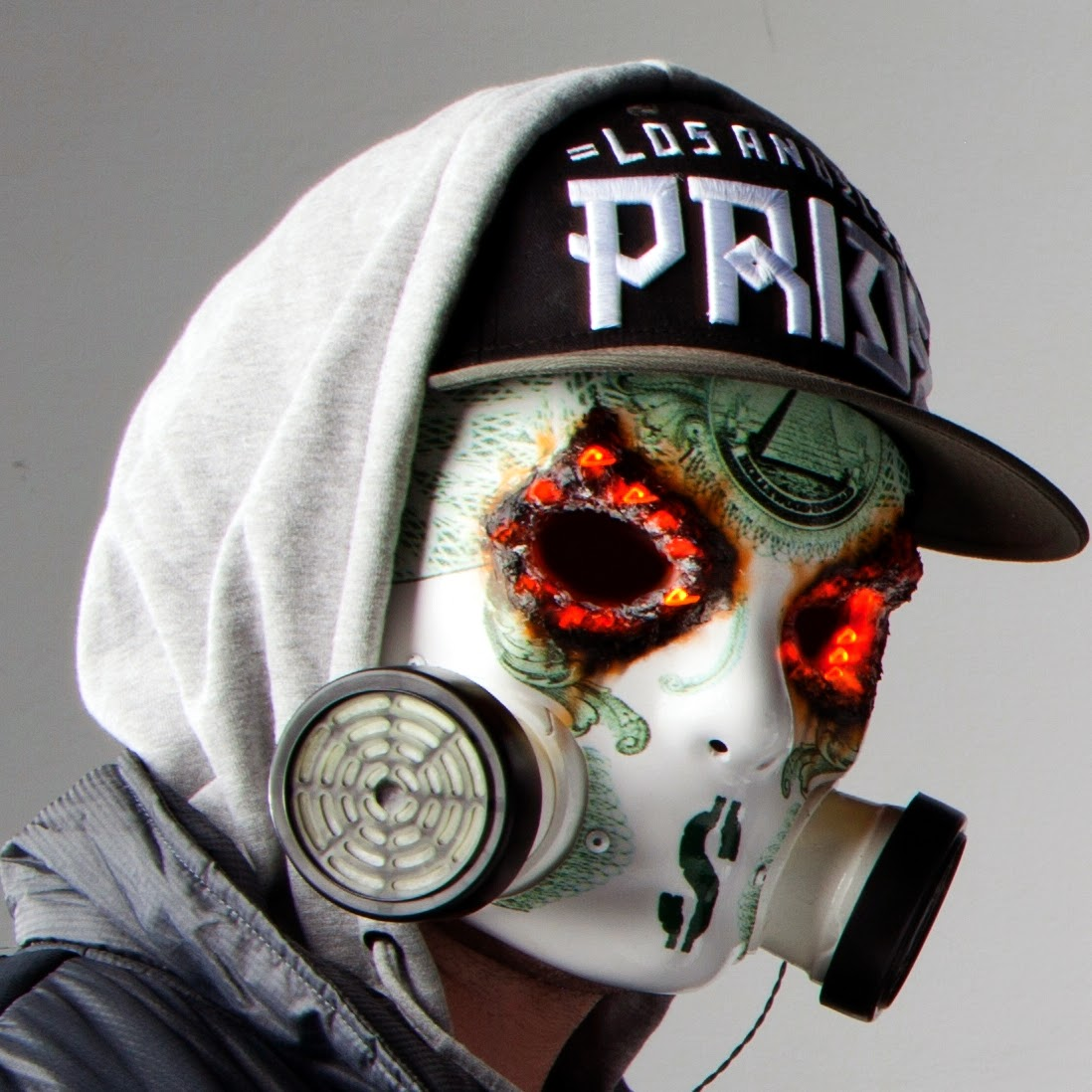 Searching A New Idea This Year For Halloween Heres Some Masks From The Metal Band Hollywood Undead And Their Fans