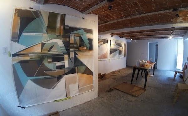 Obras del artista Augustine Kofie en la Celaya Brothers Gallery