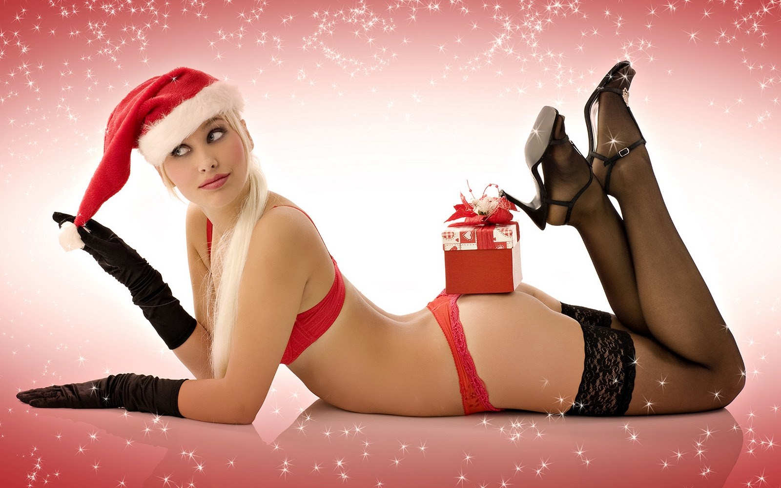 Santa s topless elves naked image