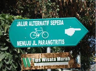 [jalur wisata sepeda jogja]