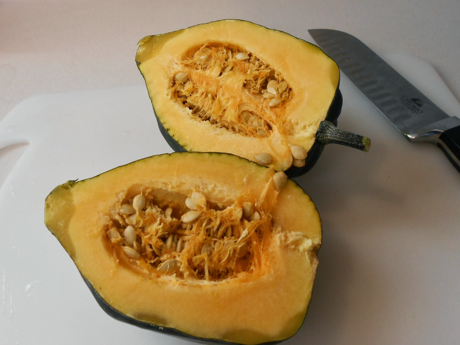 My Kind of Cooking: Baked Acorn Squash