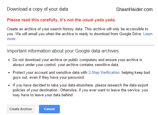 HOW TO  Delete All of Your Online Activity Data from Google Account