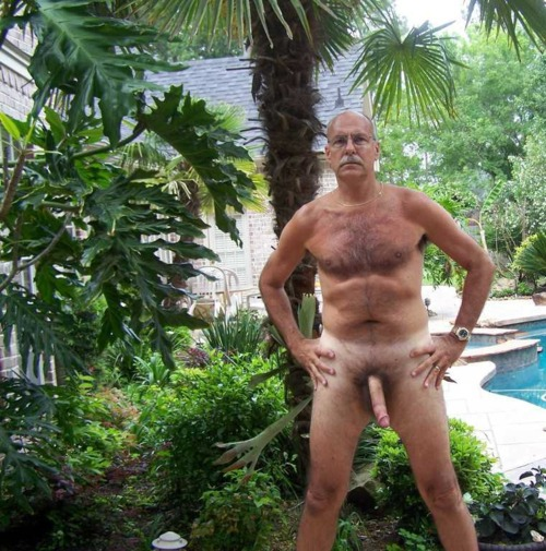 Naked Grandpa Big Dick