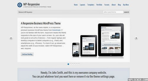 WP-Responsive Solostream Premium Wordpress Theme