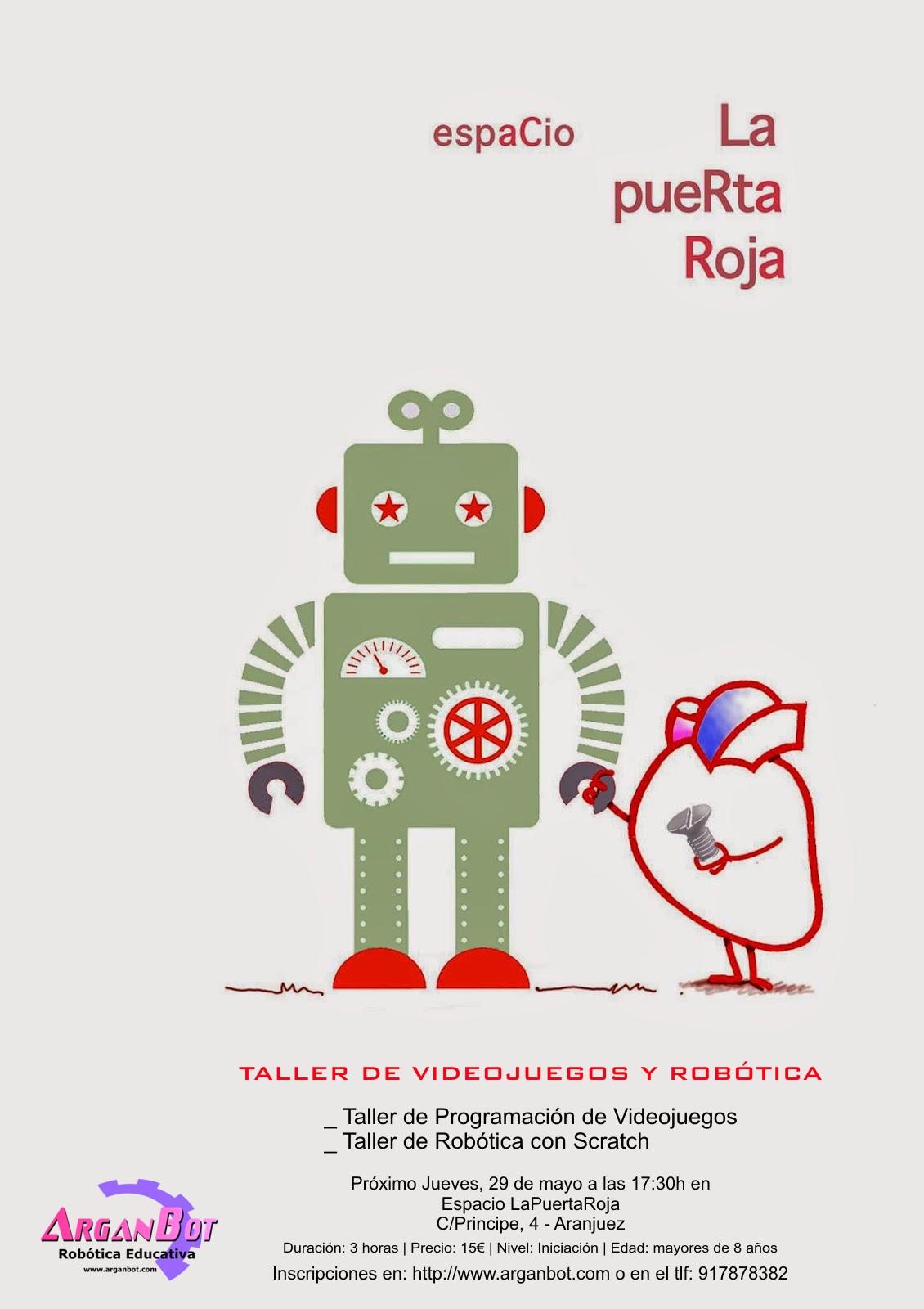 Taller de Videojuegos y Robótica con Scratch