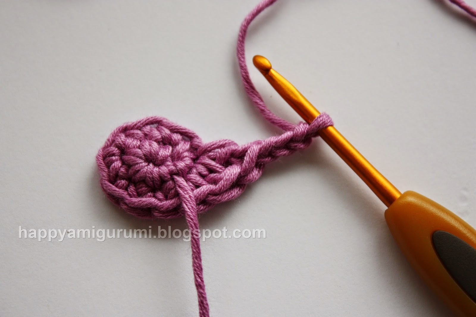 Counting Stitches Crochet Ring