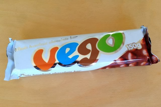 Vego vegan dairy-free chocolate bar