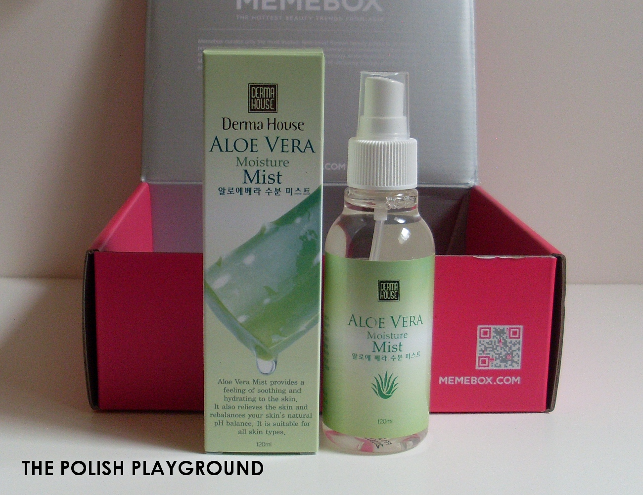 Memebox Special #35 Moisture Surge Unboxing - Dermahouse Aloe Vera Moisture Mist